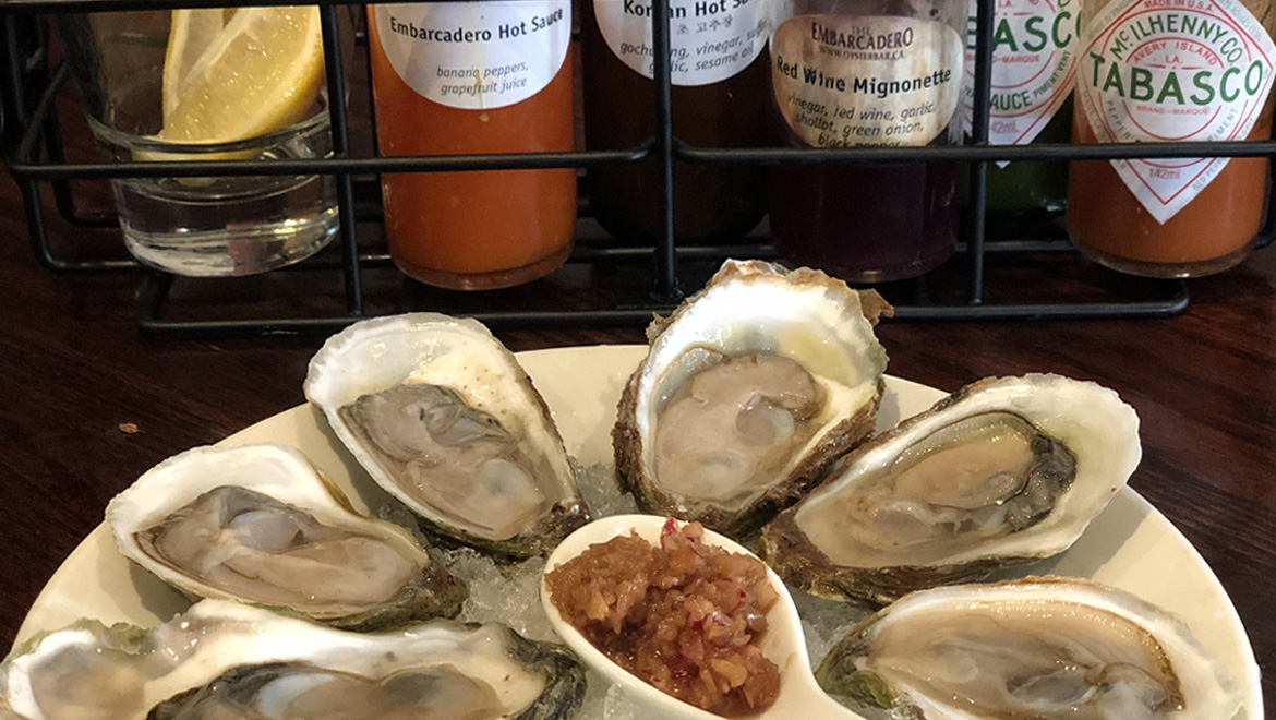 Calgary's Largest selection of Fresh North Atlantic & Pacific oysters